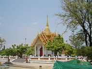 Thailand: centrale tempel in Ubon Ratchathani