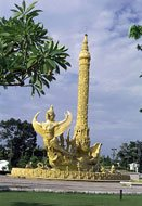 Thailand: monument in Ubon Ratchathani