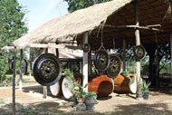 Thailand: hier maakt men gongs en drums