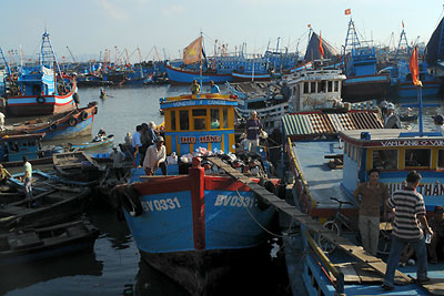 Vung Tau: de boot naar Can Gio